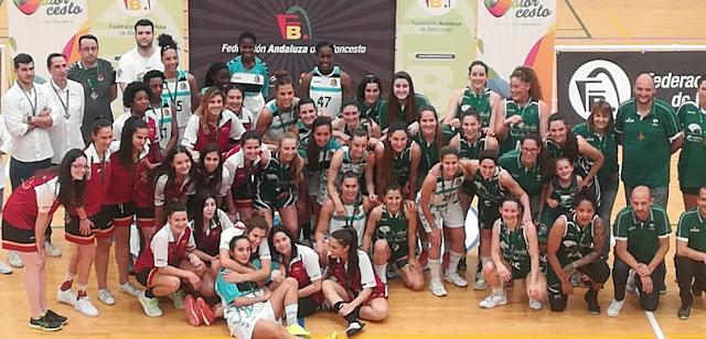 Unicaja Andalucía campeonas de N1 Femenina