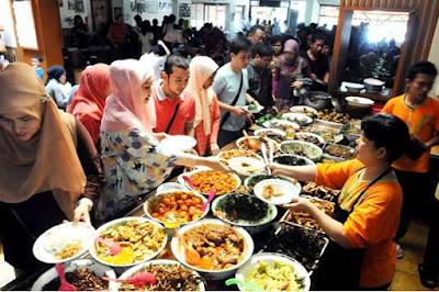 Ilustrasi pola makan sehat