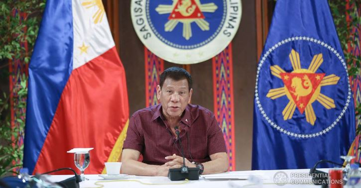 President Rodrigo Roa Duterte updates the nation COVID-19