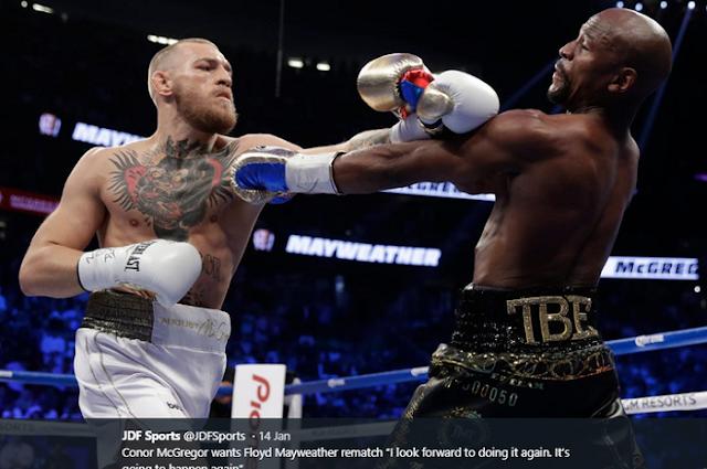 Conor McGregor, Floyd Mayweather, Las Vegas, T-Mobile Arena, UFC, United States.,