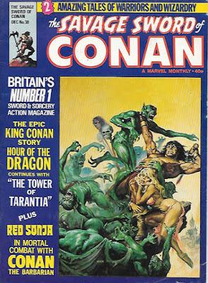 Savage Sword of Conan #38