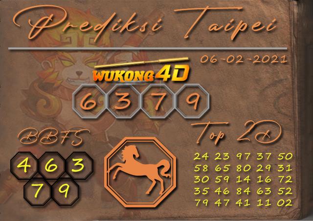 PREDIKSI TOGEL TAIPEI WUKONG4D 06 FEBRUARY 2021