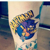 tatuaje bartman barto
