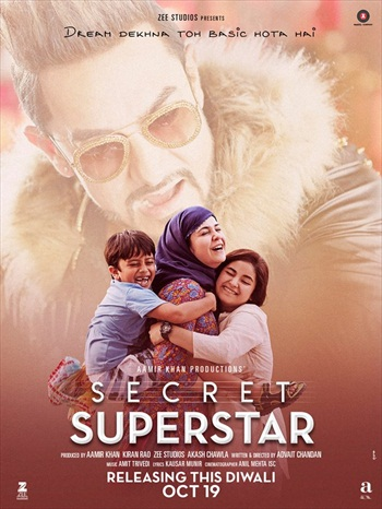 Secret Superstar 2018 Hindi 720p HDRip 1.1GB
