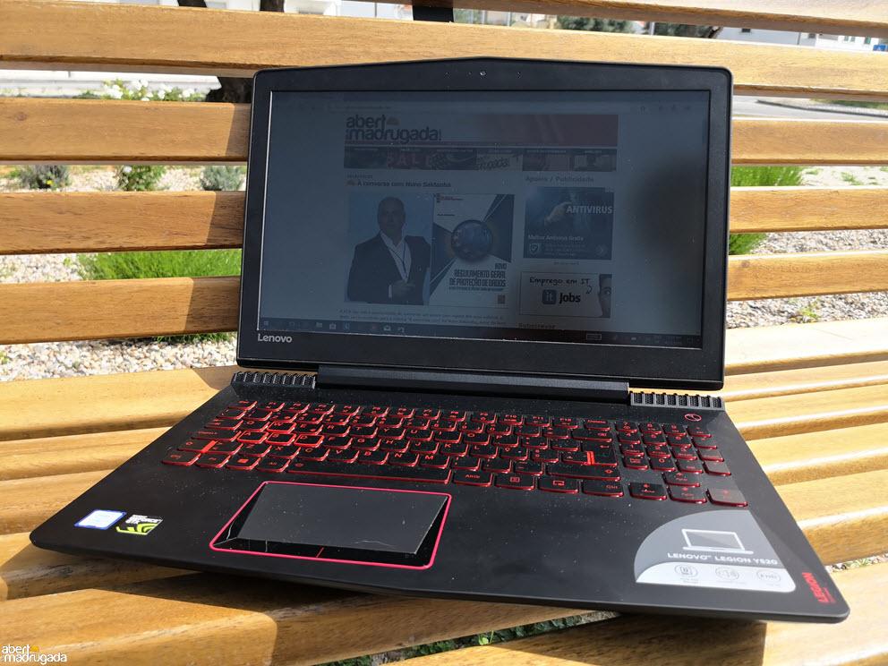 Análise ao Lenovo Legion Y520 | Aberto até de Madrugada