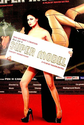 Poster Of Bollywood Movie Super Model (2013) 300MB Compressed Small Size Pc Movie Free Download worldfree4u.com
