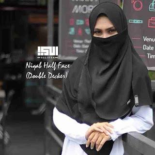 Tudung Labuh Malaysia by Illieya Hijab