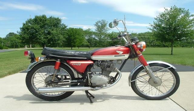 Motor Honda CB 1971 Klasik