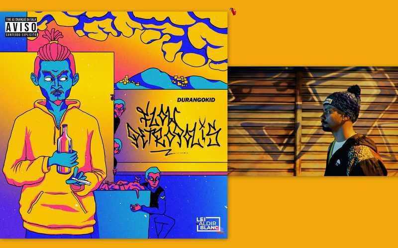 """Rapper conhecido pelo grupo Gotam Cru e os Curingas, DurangoKid celebra as ruas em que cresceu, oferecendo um novo olhar para o futuro de uma cidade renomada por sua ligação com o passado. """"Flow Petrópolis"""" antecipa """"DKMERON - Delírios Distópicos"""", álbum onde faz uma ponte entre o Brasil de 2021 e a Europa de Giovanni Boccaccio e seu livro """"Decamerão"""" (1353)."""