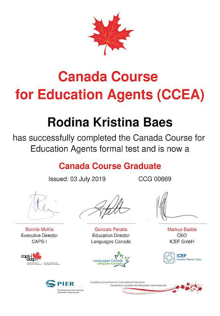 Canada Course for Education Agent