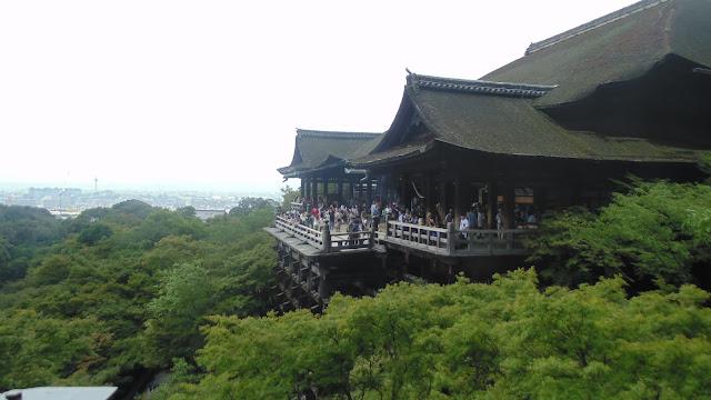 Templos do Japão: Kiyomizu-dera.
