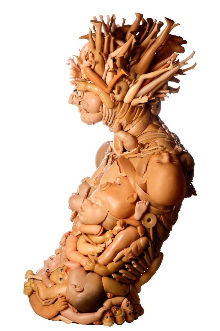 Freya Jobbins. Неоднозначные скульптуры 13