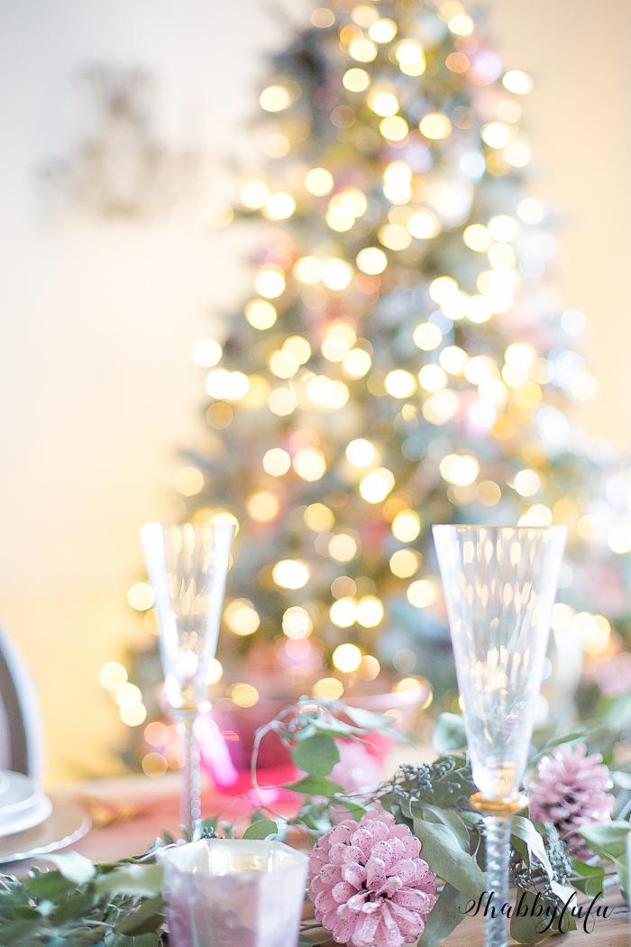pink christmas shabbyfufu