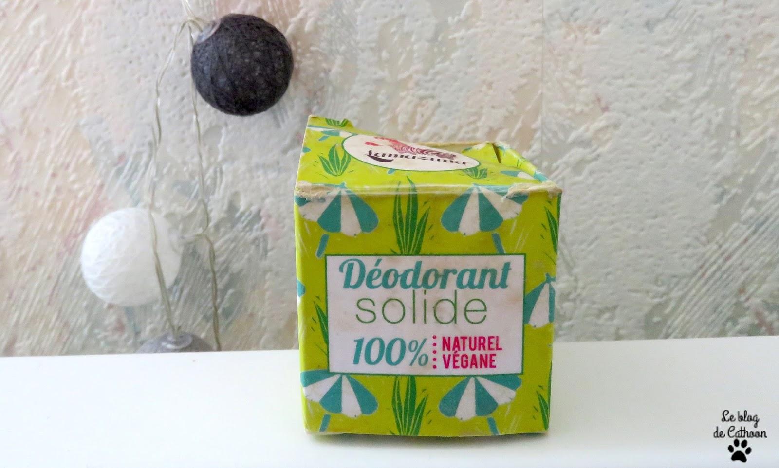 Déodorant Solide 100% Naturel Végane - Lamazuna