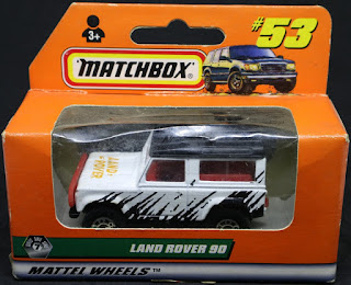 MatchBox - 53 Land Rover 90