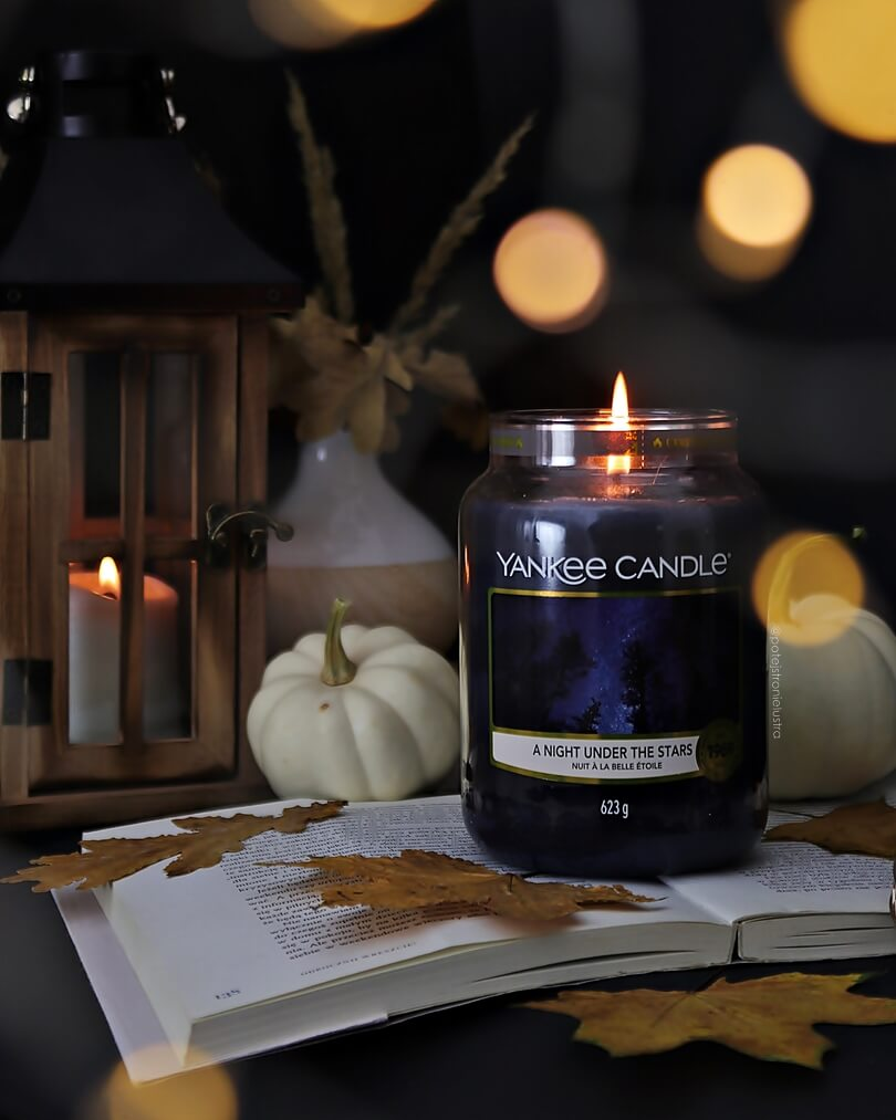 yankee candle a night under the stars recenzja blog