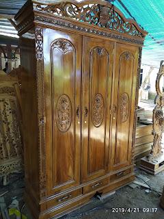 lemari kayu jati jepara