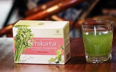 Bột cần tây Sitokata giá bán niêm yết bao nhiều tiền một hộp