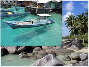 Perairan Pulau Tiga dan Pantai Batu Kasah Natuna
