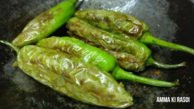 How to make Bharwan Mirchi - Mumbai Hindi Recipe Blog