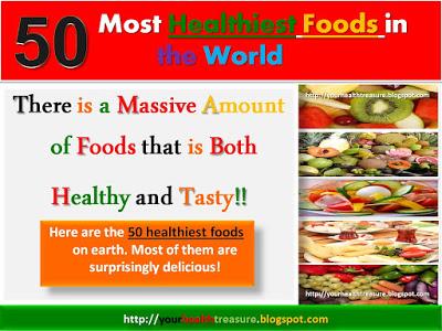 List Of Healthiest Foods On Earth