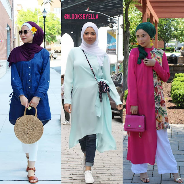 2019 Beautiful and Attractive Hijab Outfits