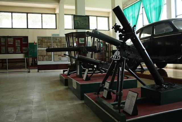 Koleksi barang-barang peninggalan kemerdekaan RI