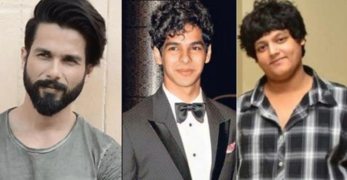 शाहिद कपूर, रुहान कपूर और ईशान