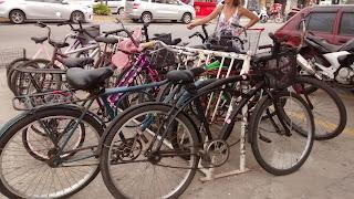 Bicicletas: transporte na praia