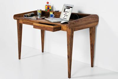 designový nábytek Reaction, nábytek z masivu, nábytek do pracovny