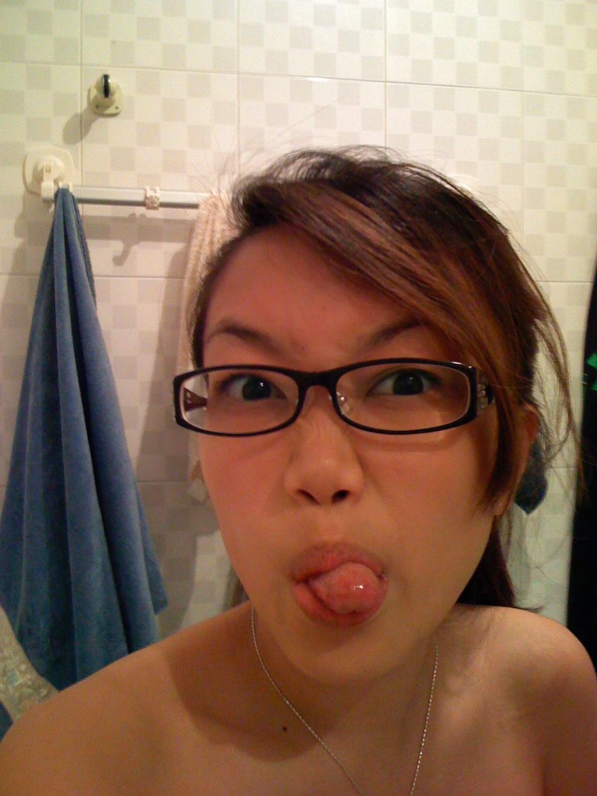 American asian nude