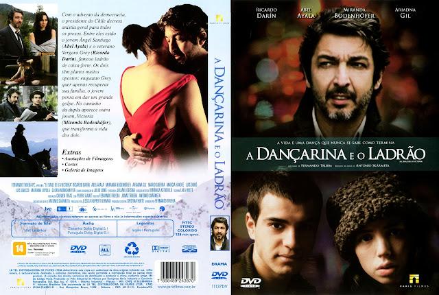 Capa DVD A Dançarina e o Ladrão
