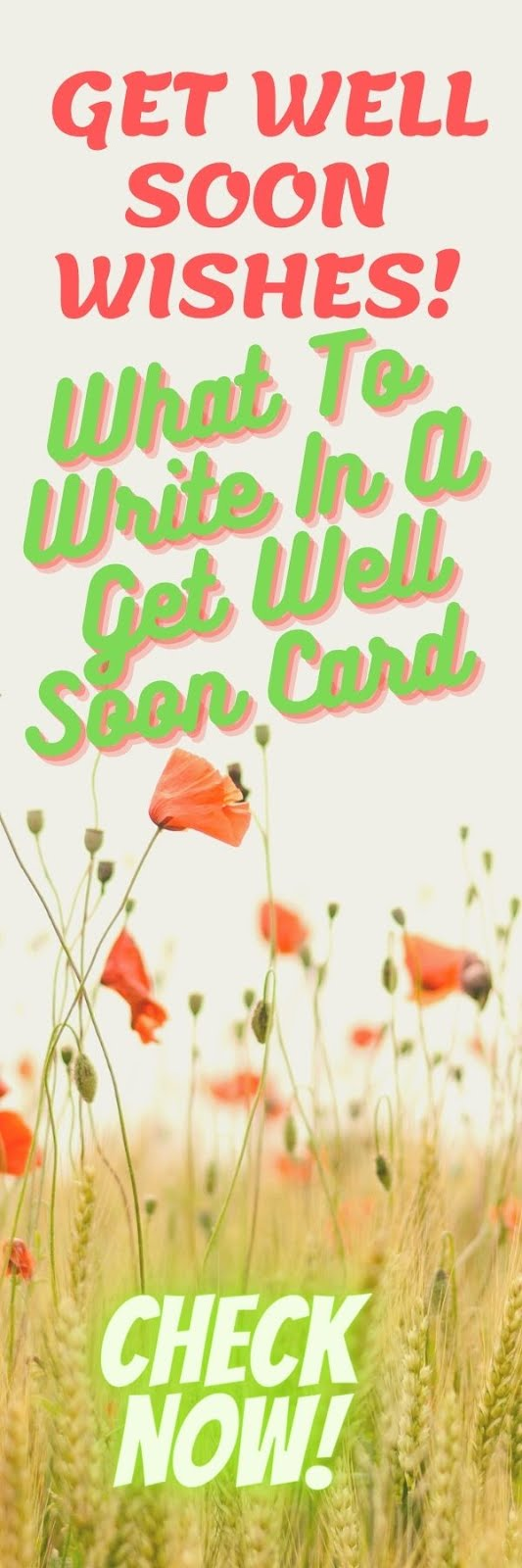 Get Well Soon Text Messages