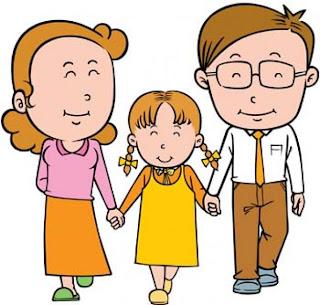 Resultado de imagem para estudante e familia