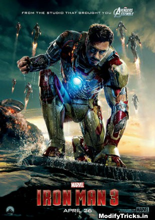 Iron Man 3 (2013) Full Movie Download in Hindi 1080p 720p 480p