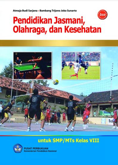 Download Buku Siswa KTSP SMP dan MTs Kelas 8 Pendidikan Jasmani Olahraga dan Kesehatan