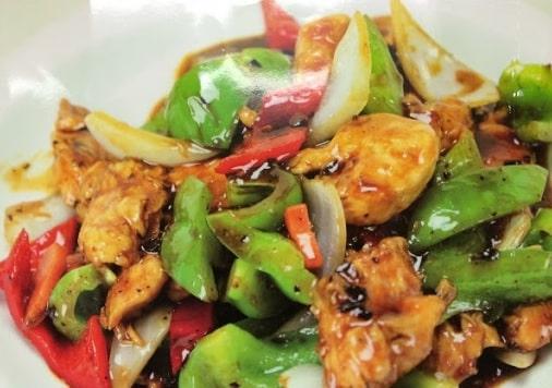 Resepi Ayam Black Pepper Mudah