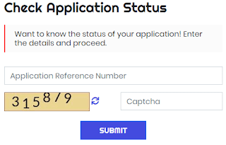 CSC Application Status