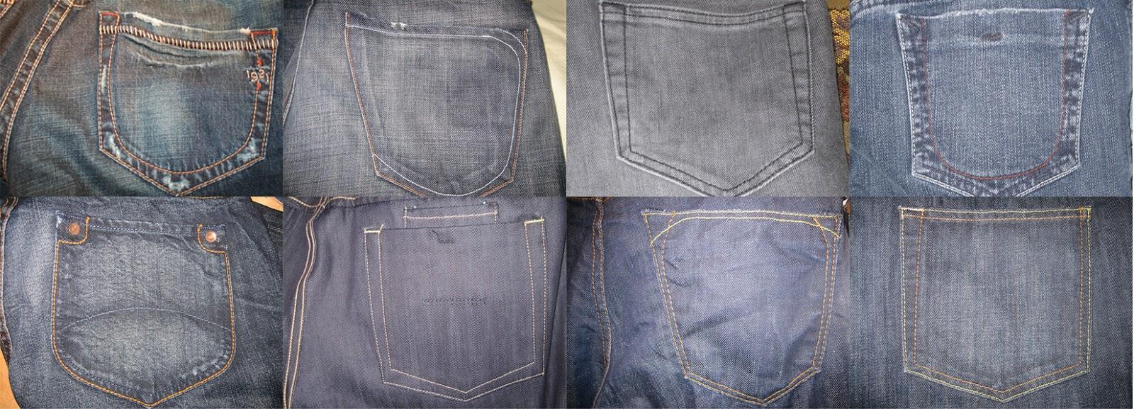 Unlikely Ginger Jeans Back Pocket Design Inspiration
