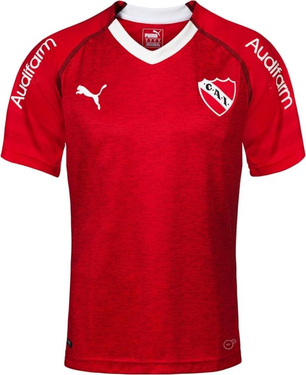 7d1d06c216432 Puma lança as novas camisas do Independiente - Show de Camisas