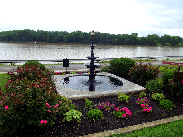 View of Ohio River from Lesko Park, Aurora Indiana