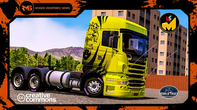 Scania R Skins World Truck Driving Simulator