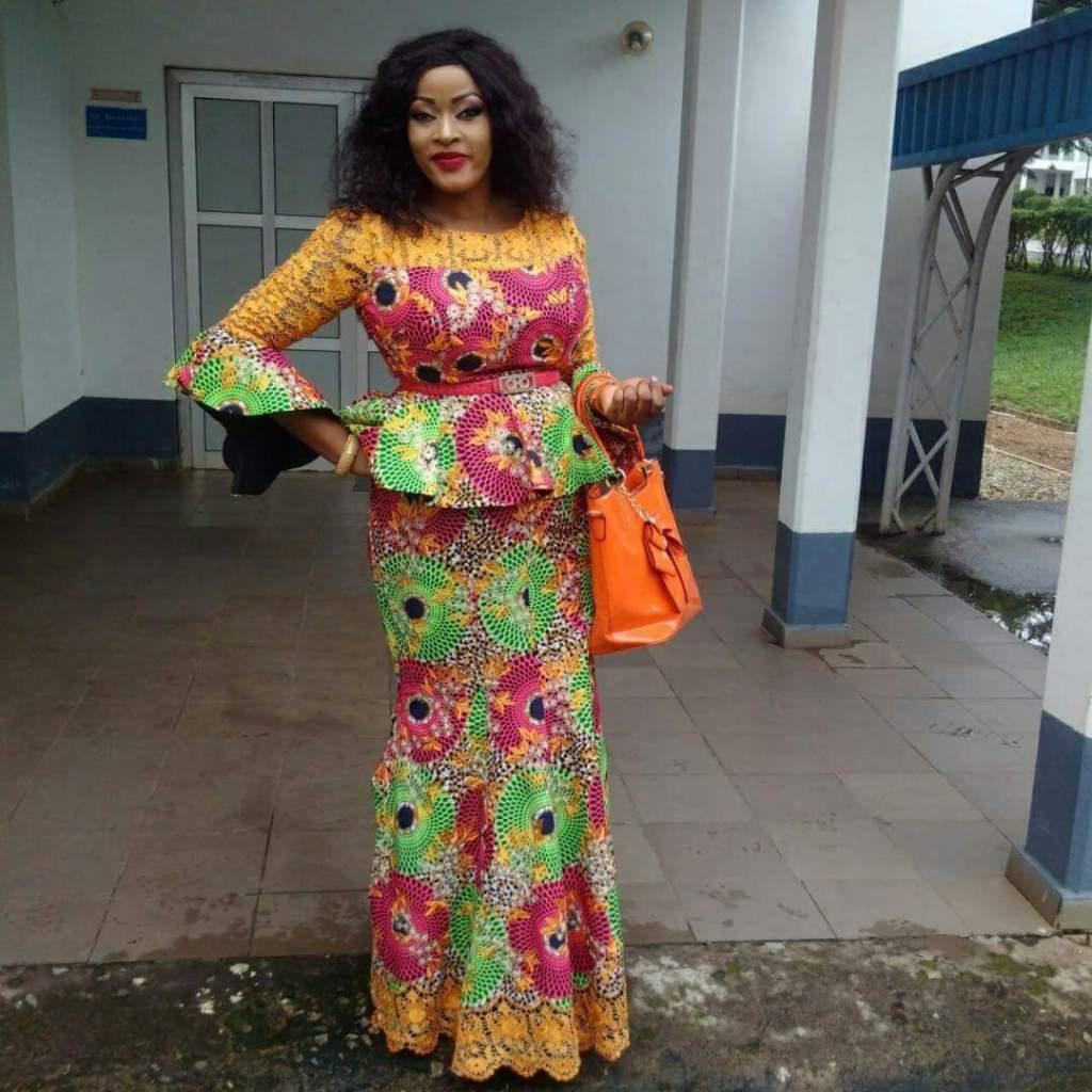 30 Super Stylish African Fashion Designs Peplum Ankara Skirt And