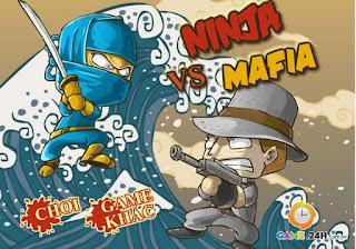 Game chiến đấu đẫm máu Ninja gặp Mafia