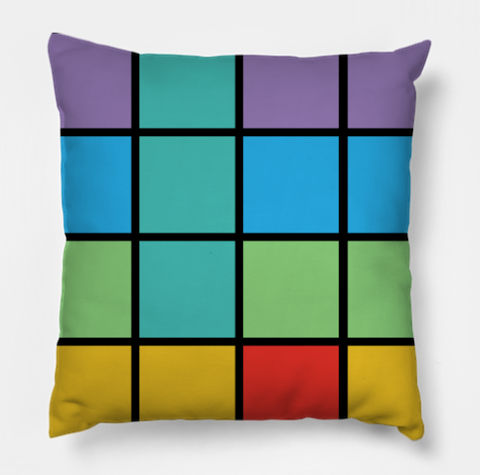 Producer Life 16 Pads (Multicolored #2) Pillow (No Text)