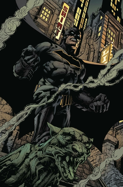 Batman en portada de cómic de David Finch