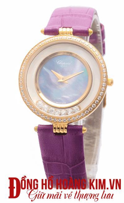 đồng hồ nữ dây da đẹp sang trọng