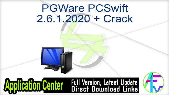 PGWare PCSwift 2.6.1.2020 + Crack