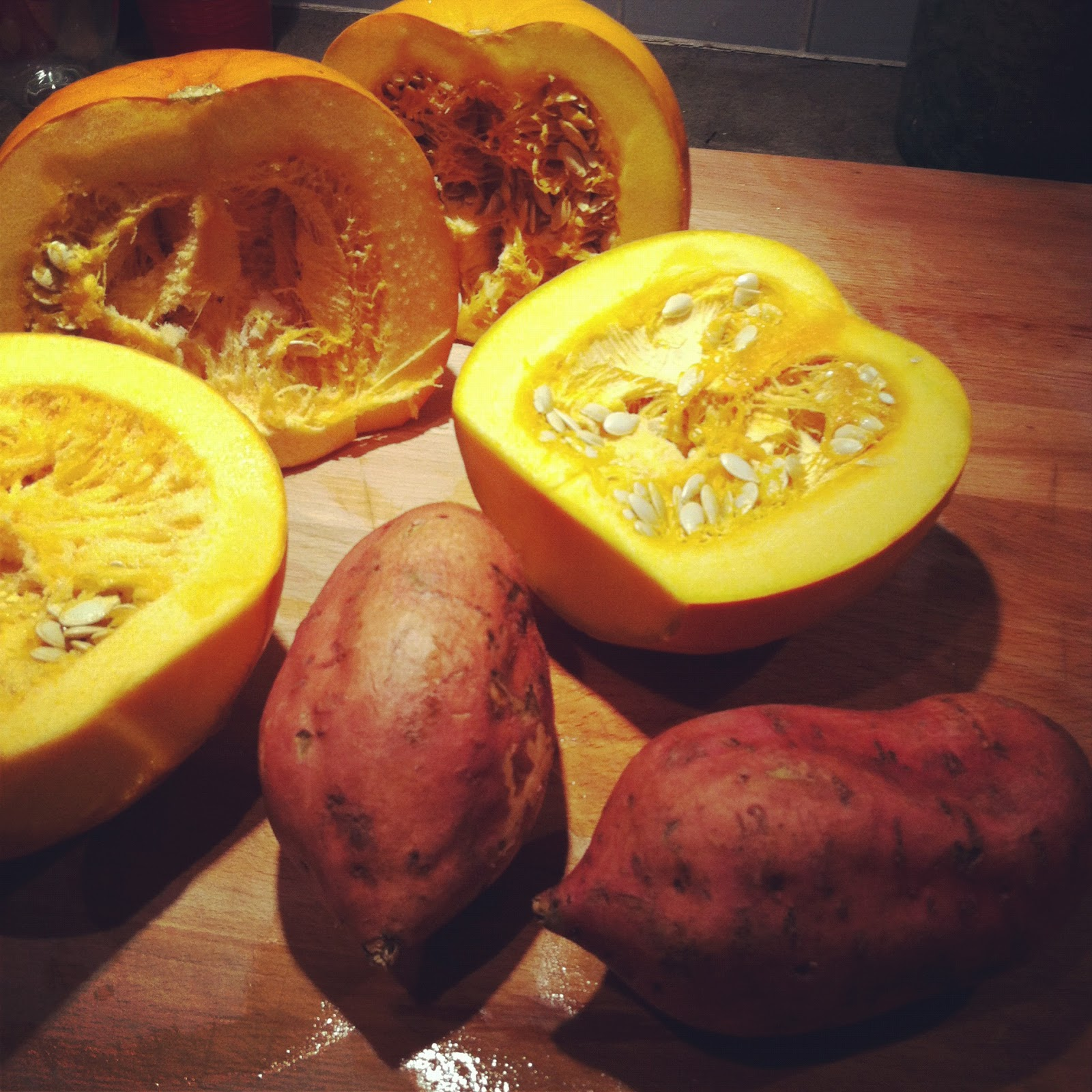 Dragon Girl: Nourish: Sweet Potato And Pumpkin Mash With