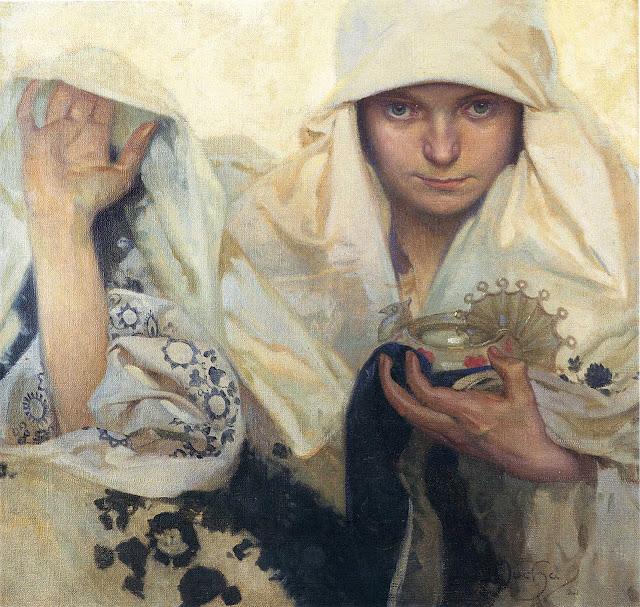 Альфонс Муха - Судьба. 1920